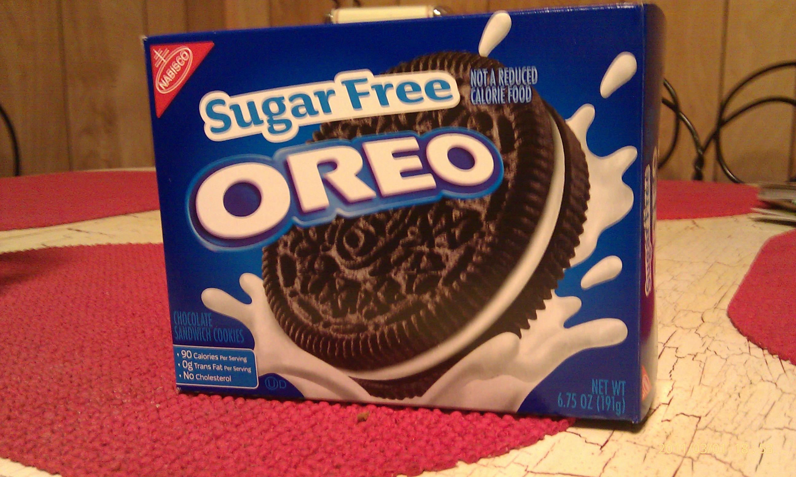 Sugar Free Oreo S I M In Love Gayle Tabor