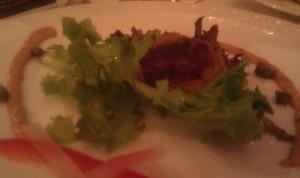Flounder & Crab Cake