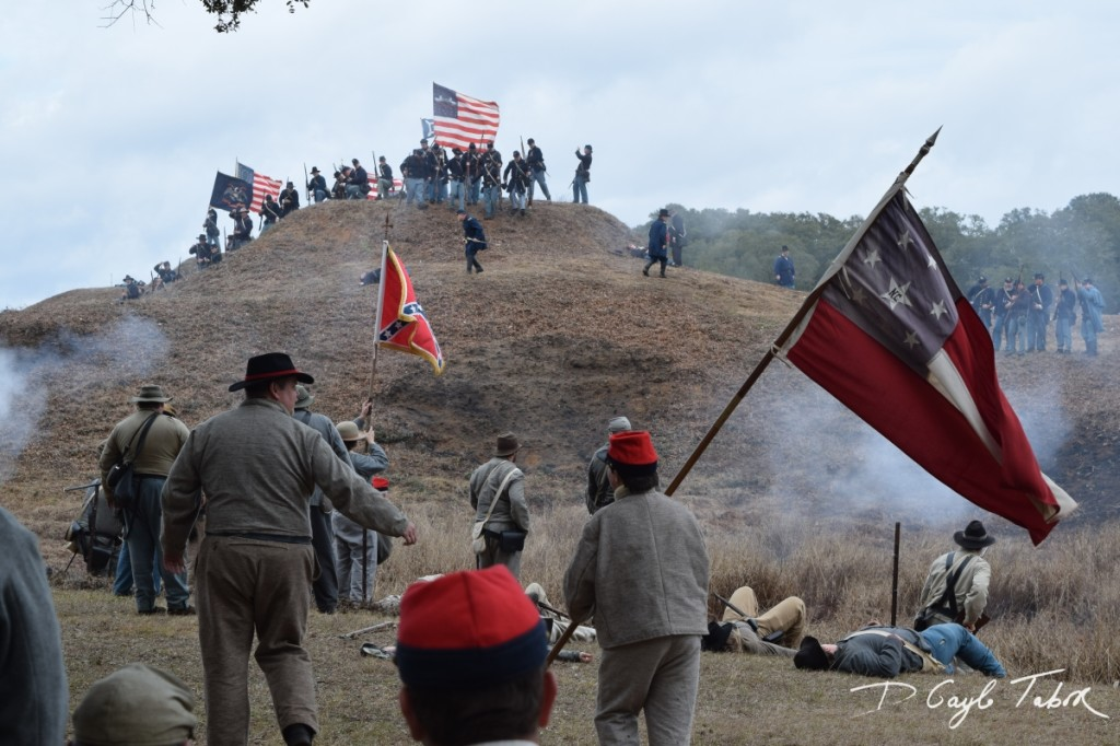 Fort Fisher Reinactment 2015 battle 2