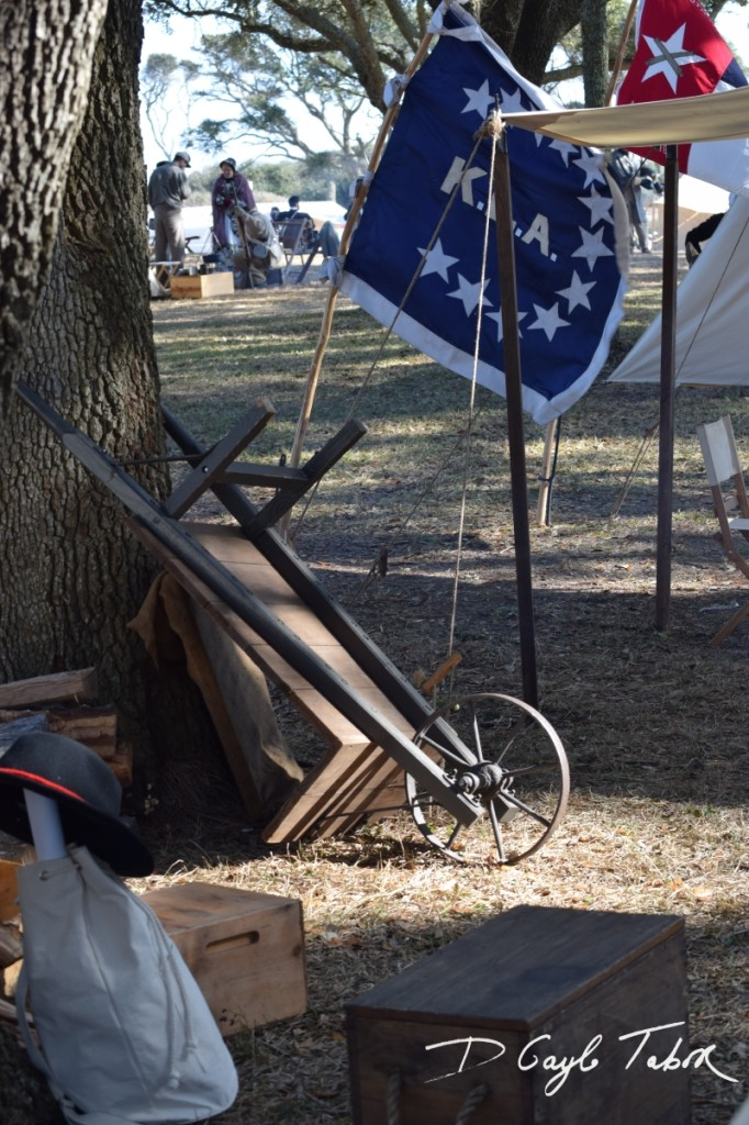 Fort Fisher Reinactment 2015 camp 2