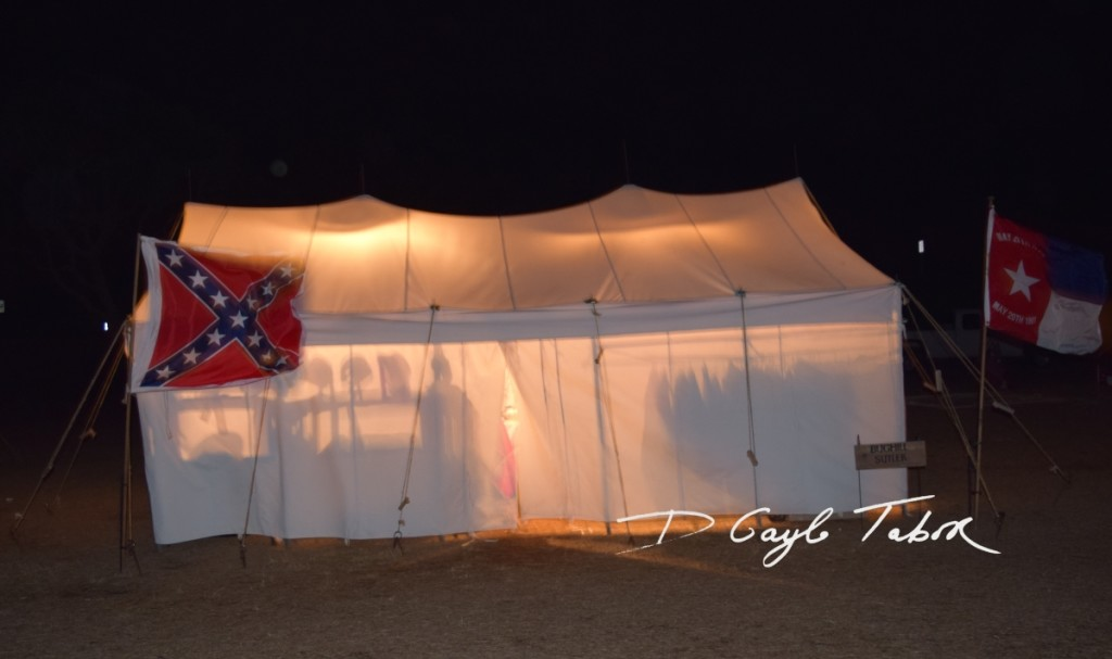 Fort Fisher Reinactment 2015 lantern tour