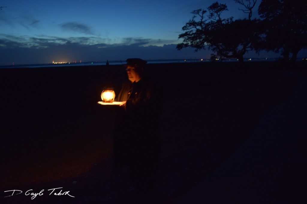 Fort Fisher Reinactment 2015 lantern tour guide