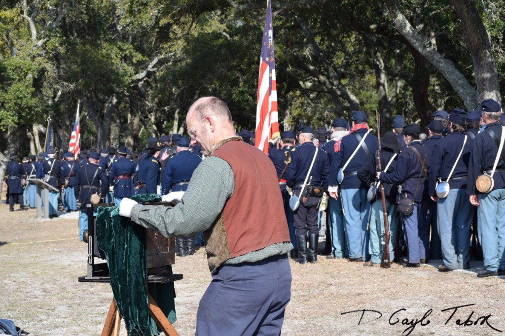 Fort Fisher Reinactment 2015 photographer