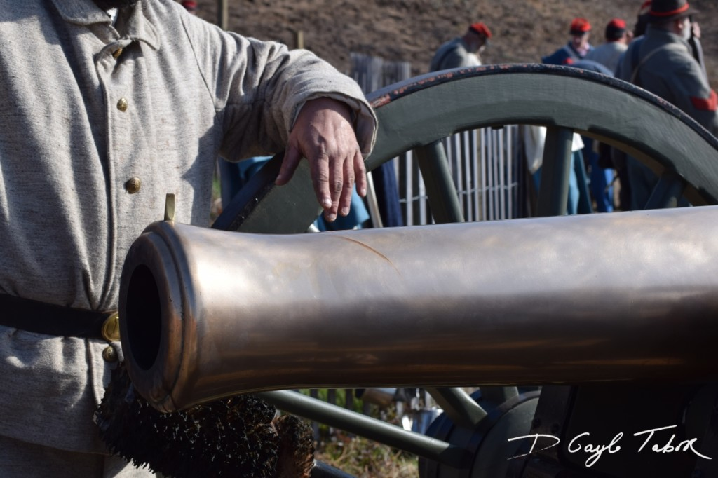 Fort Fisher Reinactment 2015 rebel cannon