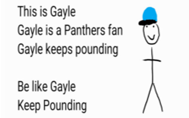 Be Like Gayle
